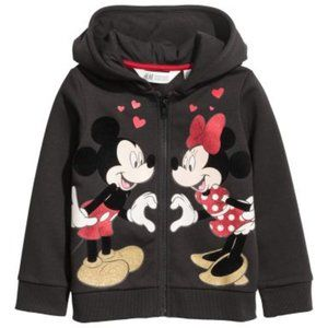 Disney | Black/Mickey and Minnie Mouse | Size 8/10